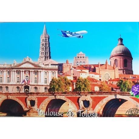 Planche à découper, dessous-de-plat Toulouse