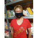 Masque de protection croix occitane lavable 30 fois