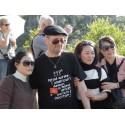 T-shirt homme en occitan Perqué aprene l'american