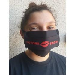 Masque de protection Potons lavable 30 fois