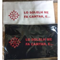 Masque de protection Humour occitan Lo solelh me fa cantar...