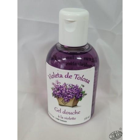 Gel douche surgras parfum violette 100ml