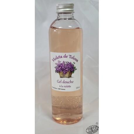 Gel douche parfumé à la violette, 250ml