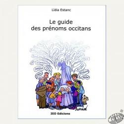Le guide des prénoms occitans de Lidia Estanc IEO Edicions