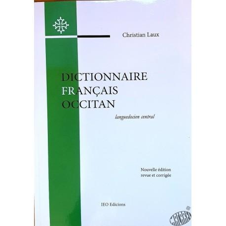Dictionnaire français-occitan de Christian Laux IEO Edicions