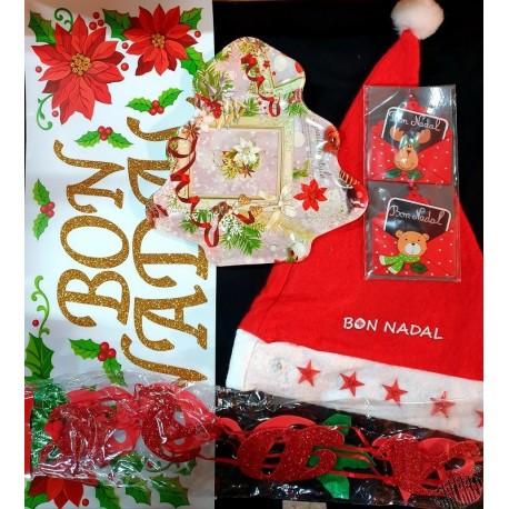 Lot assortiment décos Noël ( Bon Nadal en occitan)