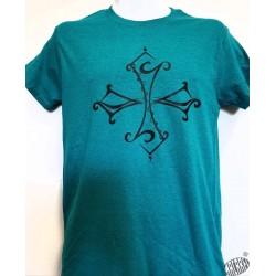 T-shirt Homme Croix occitane tribale