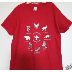 T-shirt Enfant en occitan A la montanha