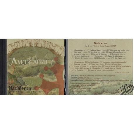 CD de la chorale Nadalenca de nadalets et chants traditionnels