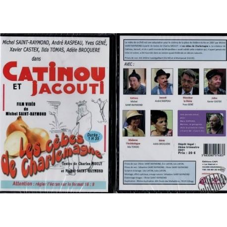 """Dvd Catinou et Jacouti """" Les cèbes de Charlemagne"""""""