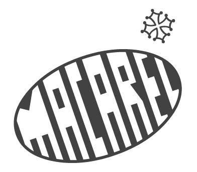 Signature de la marque Macarel