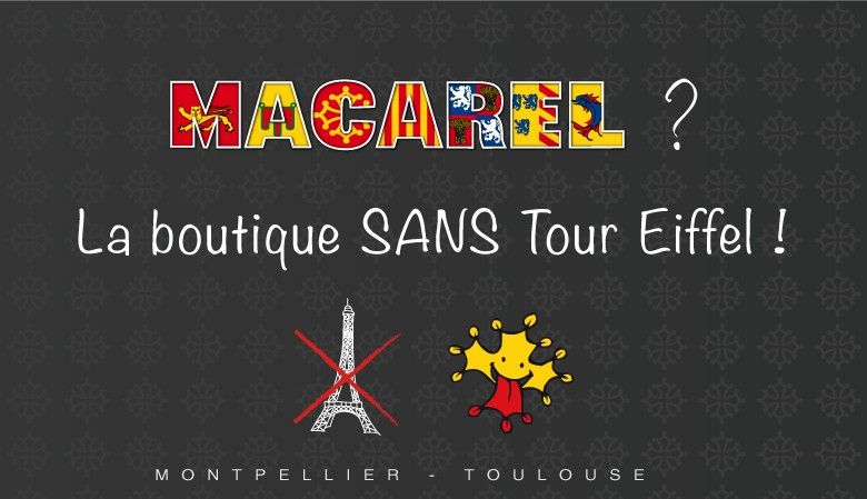 Macarel, la boutique sans Tour Eiffel